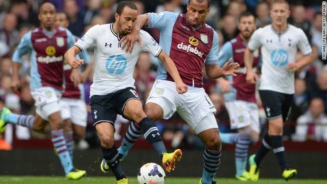 Andros Townsend finds himself back in the limelight after scoring for Tottenham against Aston Villa