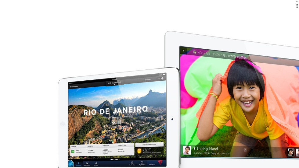 IPad sales have dropped 27% since last year and Apple's share of the tablet market is down to 32%.  Amazon's Kindle and Google's Nexus tablets have proved tough competition for the iPads.