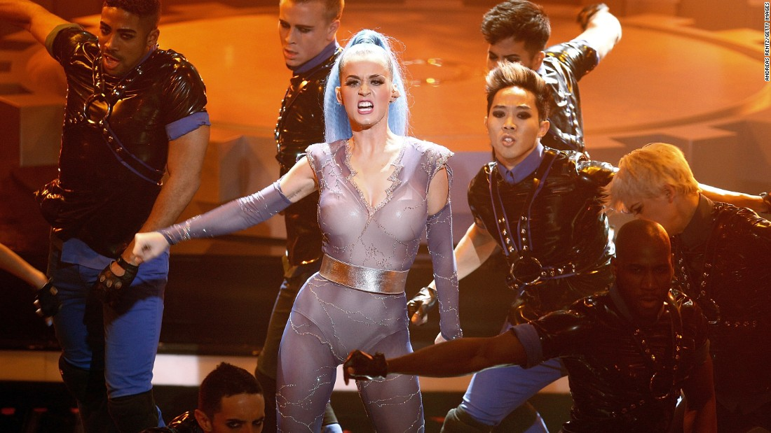 Katy Perry performs at the 2012 Echo Awards in Berlin.