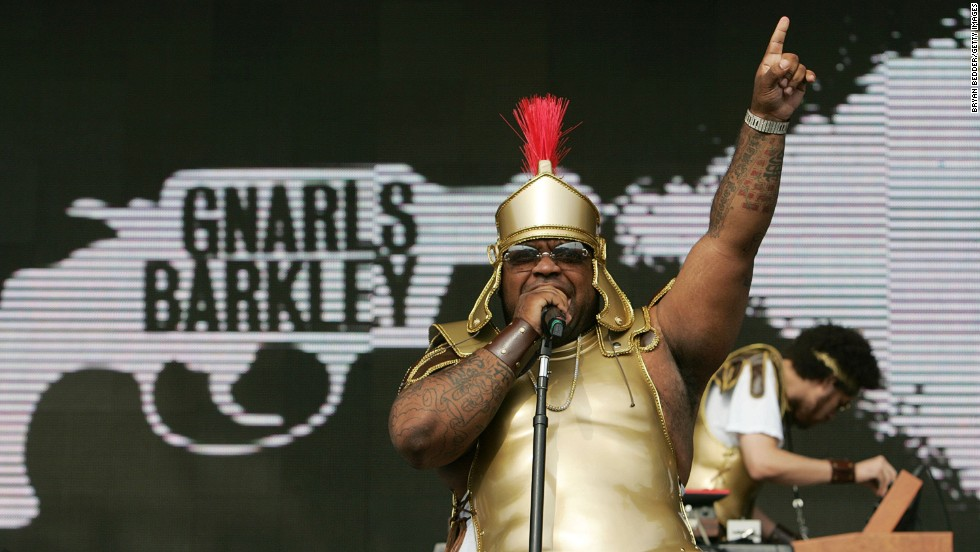 Green performs with Gnarls Barkley onstage at the Virgin Festival by Virgin Mobile on September 23, 2006, in Baltimore.