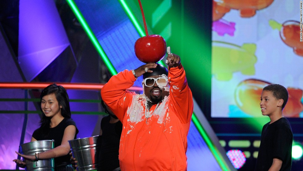 Green performs onstage at Nickelodeon's 25th Annual Kids' Choice Awards on March 31, 2012, in Los Angeles.