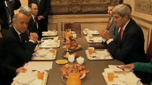 Kerry's 'uncomfortable' French breakfast
