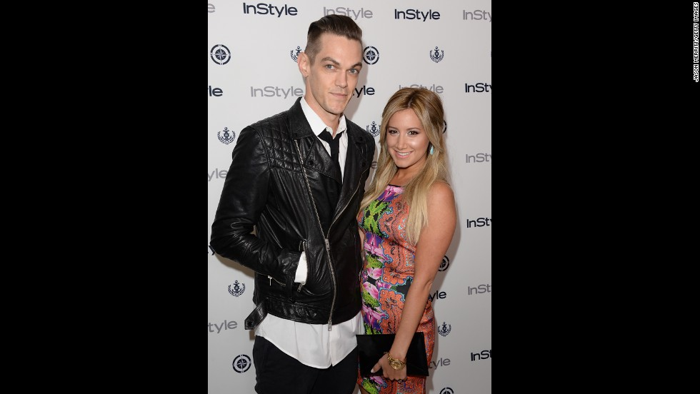 "In August 2013, actress Ashley Tisdale<a href=""https://twitter.com/ashleytisdale"" target=""_blank""> tweeted</a> about the ""Best night of my life"" after musician Christopher French <a href=""http://www.usmagazine.com/celebrity-news/news/ashley-tisdale-engaged-to-christopher-french-201398"" target=""_blank"">popped the question on the 103rd floor of the Empire State Building.</a>"