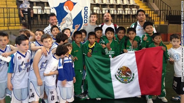 "The victorious Triqui Indian boys team from Mexico, nicknamed the ""Barefoot Giants of the Mountains."""