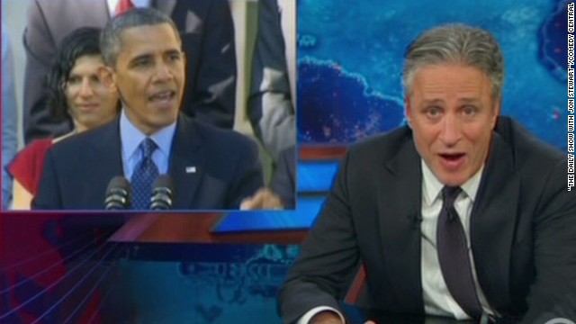 Jon Stewart, others take on Obamacare