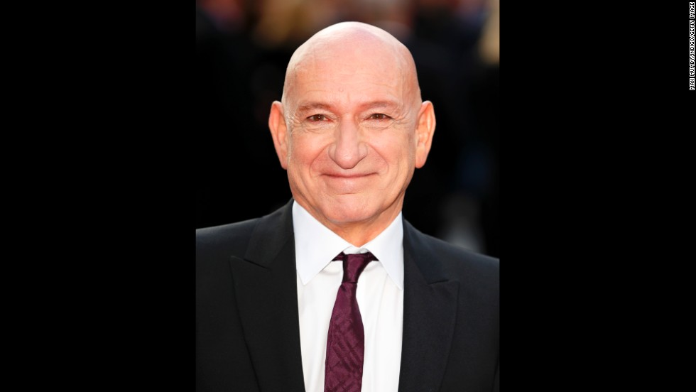 Actor Sir Ben Kingsley.