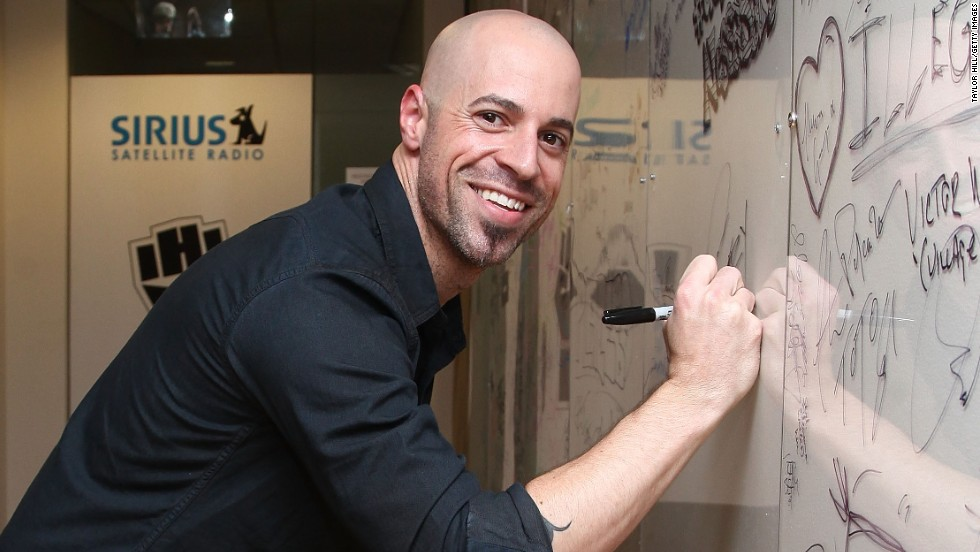Musician Chris Daughtry.