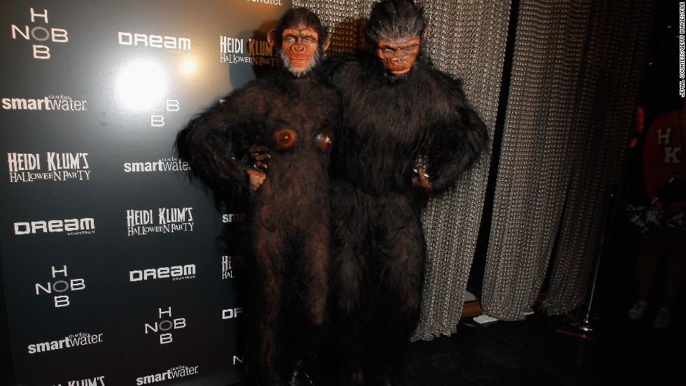Heidi Klum and Seal's costumes for the supermodel's annual Halloween parties have become legendary. They're no longer together, but we consider this get-up one of their masterpieces.