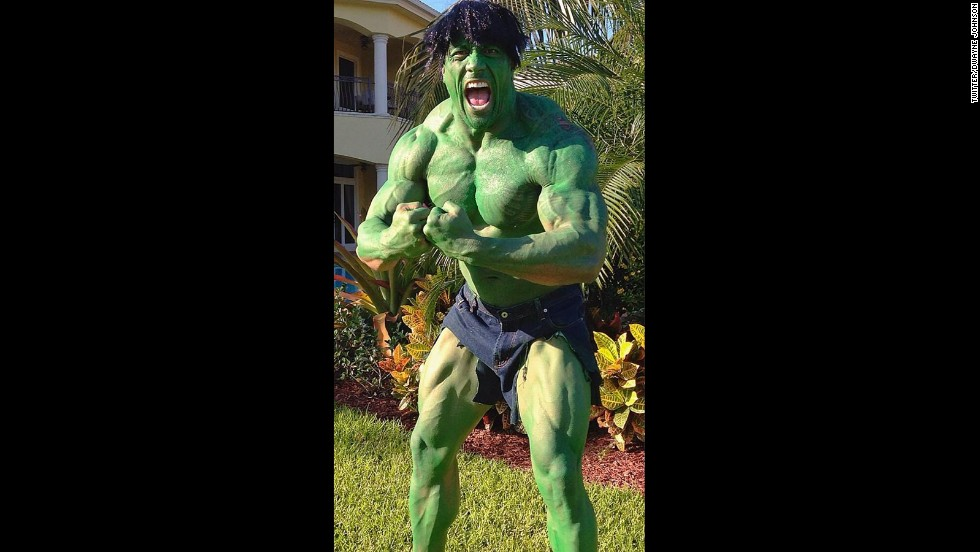 "We always assumed that we wouldn't like Dwayne ""The Rock"" Johnson when he's angry, but he proved it for Halloween 2012."
