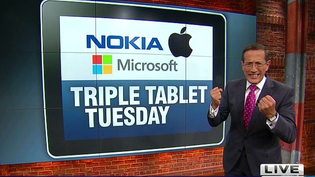 Triple tablet Tuesday