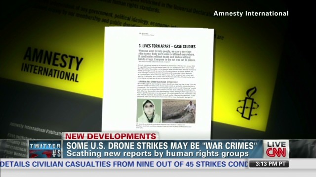 U.S. drone strikes may be 'war crimes'