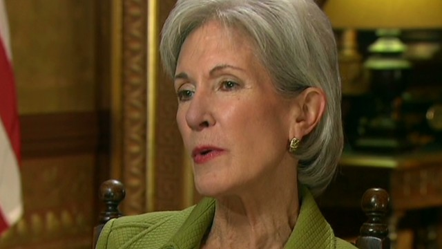 Sebelius: Obama didn't know until day one