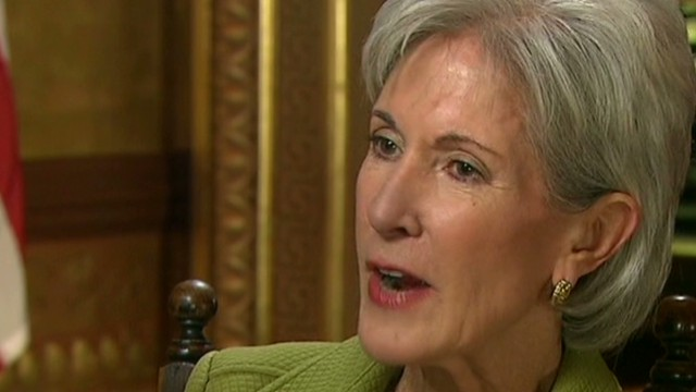 Sebelius: 'A-Team' working on website