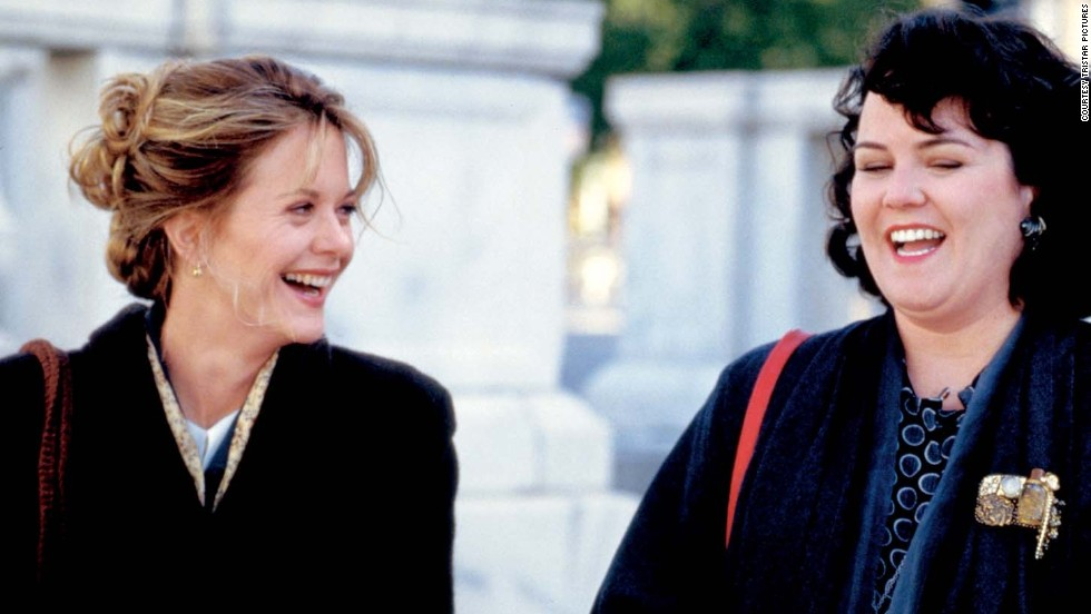 "Ephron worked on ""Sleepless in Seattle,"" starring Meg Ryan and Rosie O'Donnell, which her sister Nora co-wrote and directed."