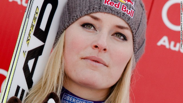 Lindsey Vonn is battling to be fit to defend her Olympic downhill title in Russia next year.