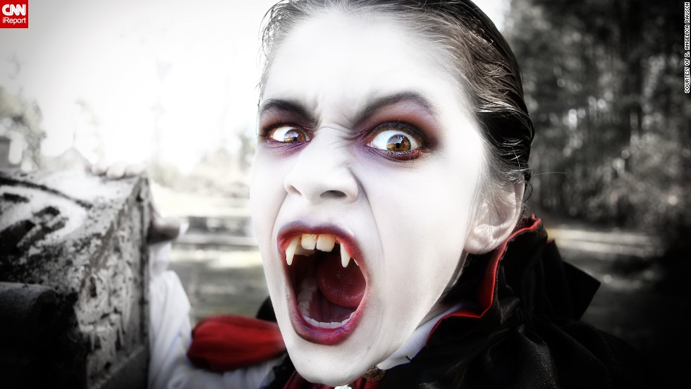 "Dressing up as a vampire has become a family tradition for Ruhl Rausch and his mum Angelica, who has been taking photos of his antics for the past three years. ""<a href=""http://ireport.cnn.com/docs/DOC-1042074"" target=""_blank"">Ruhl has a flair for the dramatic</a> and loves to get into character for the shoots, and with me being a semi-professional photographer he is certainly not camera shy,"" she said."