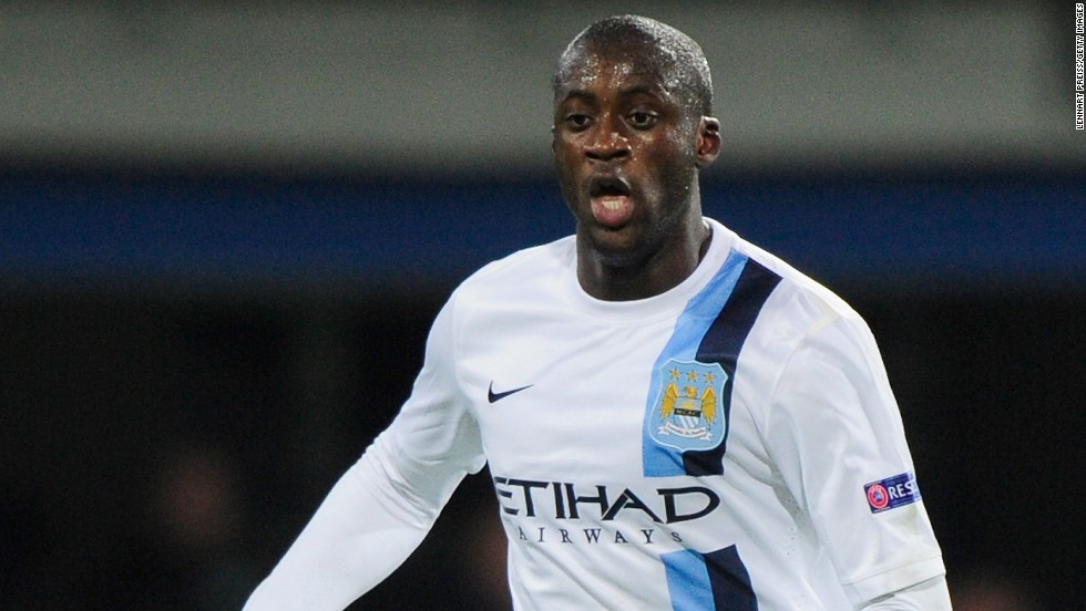 Manchester City midfielder Yaya Toure will come face to face with his former teammates when Barcelona arrives in town for the first leg clash.
