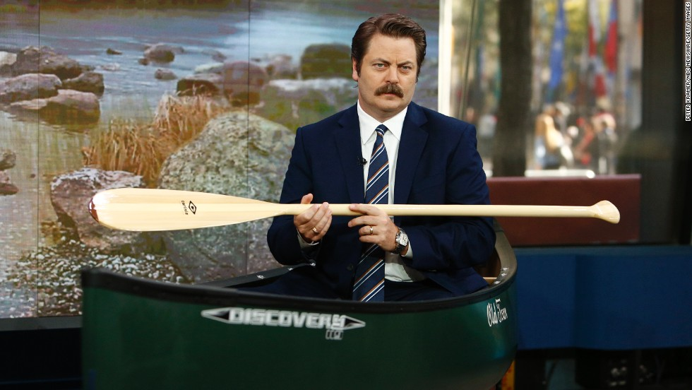 "When he's not appearing on ""Parks and Recreation,"" Nick Offerman is an accomplished woodworker; he even has <a href=""http://offermanwoodshop.com/"" target=""_blank"">a collective</a> devoted to the craft."