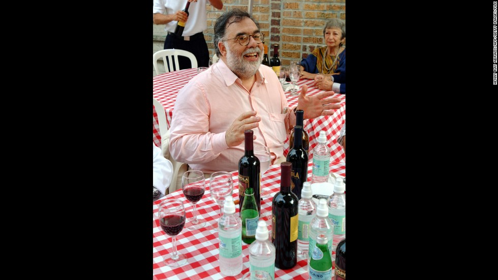 "Director Francis Ford Coppola is also a winemaker. His <a href=""http://www.franciscoppolawinery.com/"" target=""_blank"">Francis Ford Coppola Winery</a> in Geyserville, California, has produced several highly rated vintages."