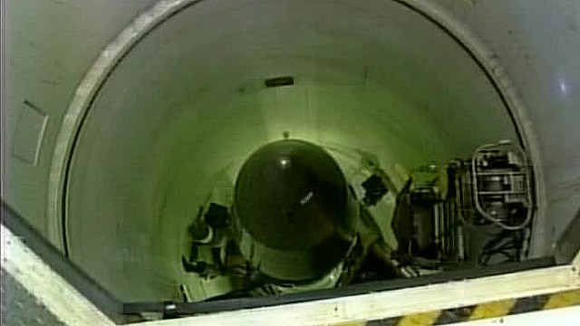 In another public embarrassment for the Air Force's nuclear missile program, two crew members were disciplined in mid-2013 for leaving silo blast doors open while they were on duty in an underground facility housing nuclear missiles.