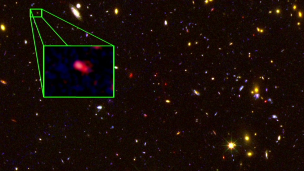 Scientists confirm most distant galaxy ever