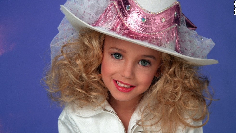 JonBenet Patricia Ramsey, was a 6-year-old beauty queen found murdered in her home in Boulder, Colorado, on December 26, 1996. The question still remains of who killed the little girl who won titles including Little Miss Colorado, Little Miss Charlevoix, Colorado State All-Star Kids Cover Girl, America's Royale Miss and National Tiny Miss Beauty.