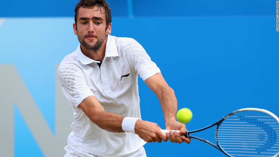 Croatia's Marin Cilic worked with fellow countryman Goran Ivanisevic. Ivanisevic is the only male wildcard to have won the Wimbledon title.