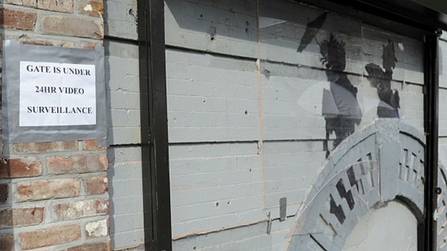 Owners protect 'Banksy'd' building