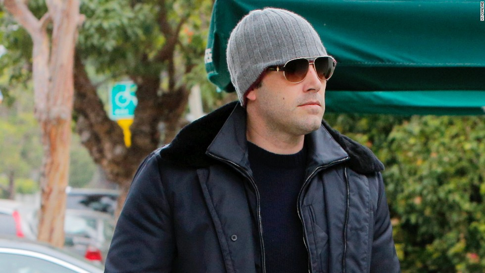 Ben Affleck bundles up his growing physique on October 25.