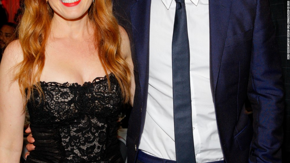 Isla Fisher and Robert Pattinson enjoy the second annual Australians in Film gala on October 24.