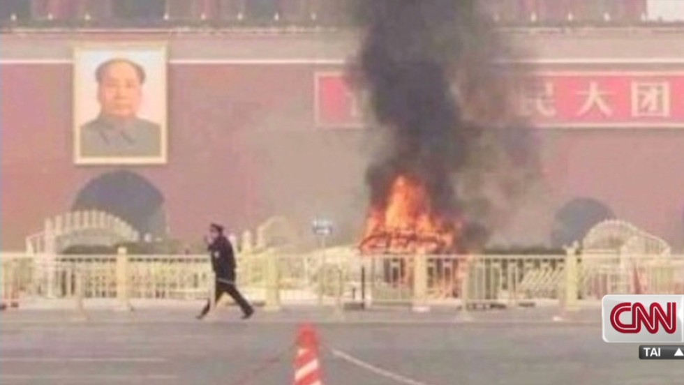 Report: Indictments in last year's Tiananmen Square attack