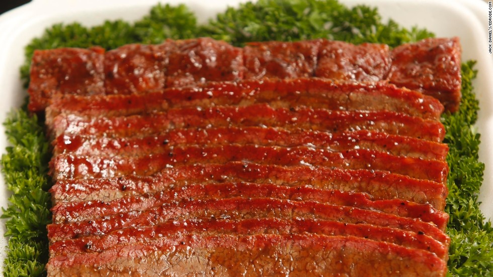 Brisket is also required, and tenderness, along with appearance and taste, is key.