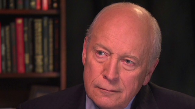 Does Cheney support running deficits?
