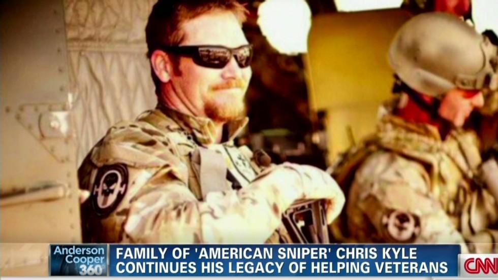 'American Sniper' widow speechless after rifle raffle