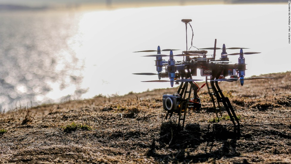 "UAV technology company <a href=""http://3drobotics.com/"" target=""_blank"">3D Robotics</a> has developed the X8, a copter that can take high-resolution videos and photographs, an do detailed mapping. 3D Robotics says the user will be able  to create, fly and repeat missions for data measurement."