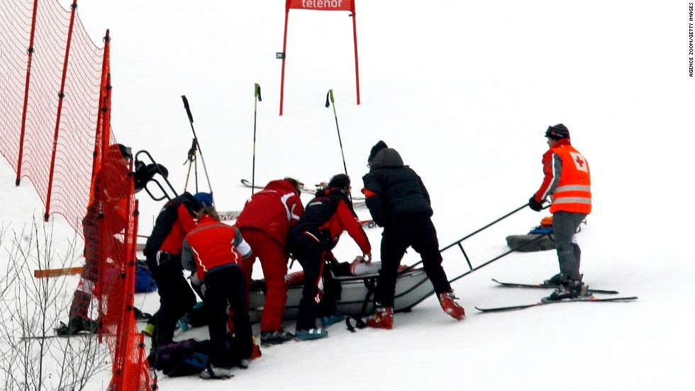 But his skiing career and his life completely changed when he crashed at speed during the Super-G World Cup race at Kvitfjell back in March 2008.