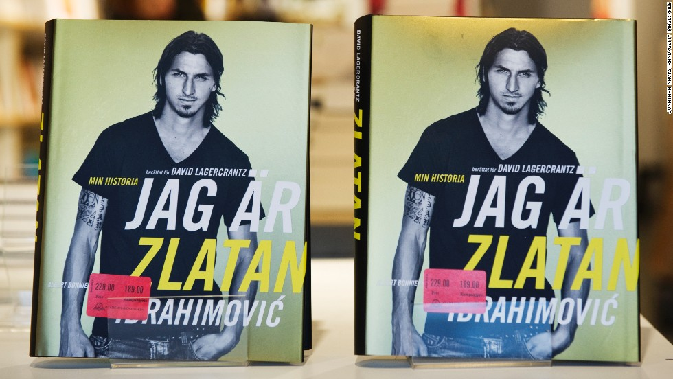 "Sweden striker Zlatan Ibrahimovic recently updated his autobiography which was true to his supremely confident manner. The Paris Saint-Germain star constantly refers to himself in the third person and throws out lines like: ""An injured Zlatan is a properly serious thing for any team."""