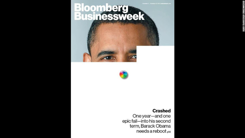 Bloomberg Businessweek's November 4 issue addressed the technical problems that riddled the HealthCare.gov website.