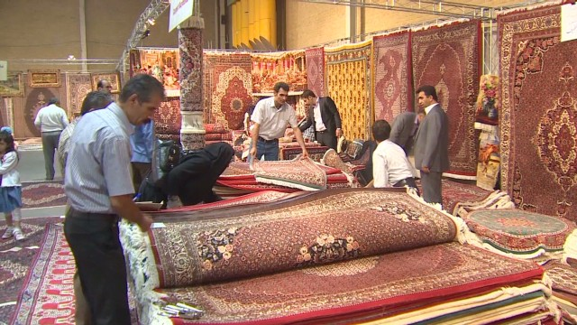 Persian carpet exports on the decline