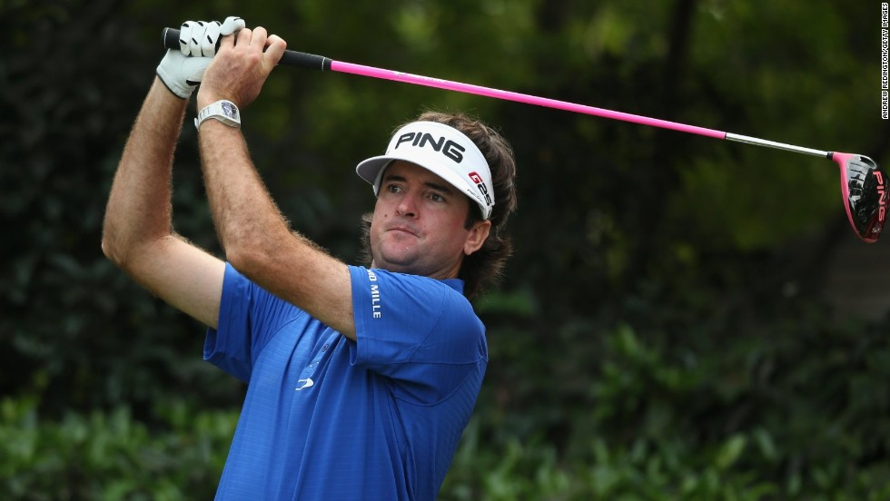 Bubba Watson stayed in contention with a three-under 69 to move into joint second with Rory McIlroy and Boo Weekley.