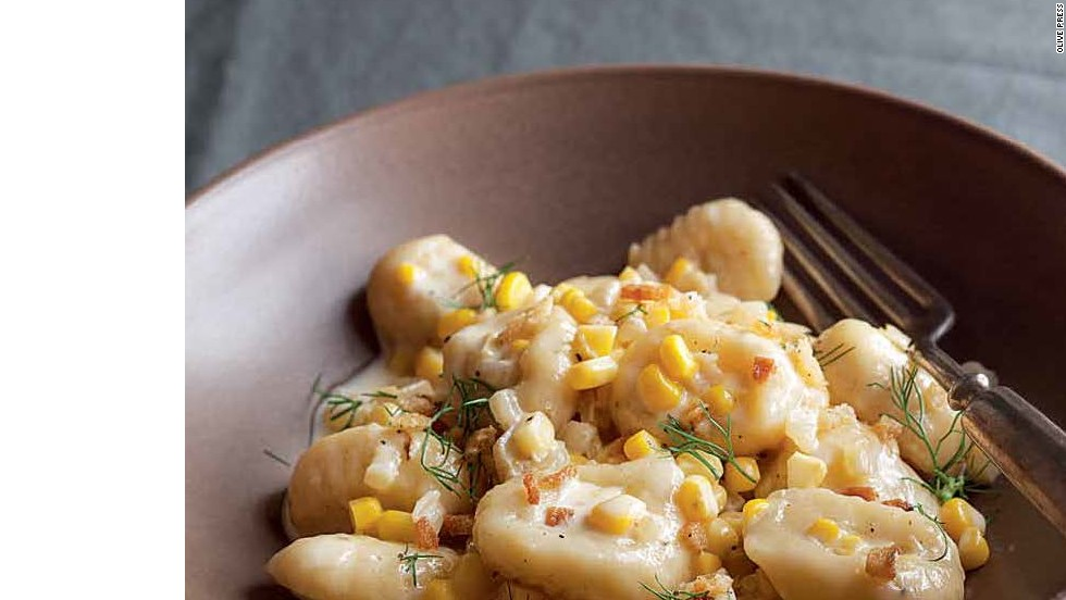 "Gnocchi with Caramelized Fennel & Corn -- <a href=""http://eatocracy.cnn.com/2013/11/05/55-classic-pasta-shapes-to-master/"">Get the recipe </a>"
