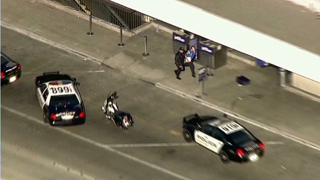 LAX witness: Not too soon to discuss guns