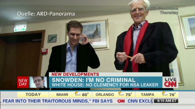 Edward Snowden: I'm no criminal