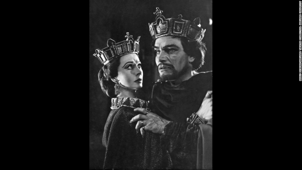 "Olivier called Leigh's Lady MacBeth portrayal the best he'd ever seen, Bean said. The couple performed Shakespeare's MacBeth in 1955 as the second of three productions at the Shakespeare Memorial Theatre at Stratford-upon-Avon. ""A lot of people felt that she and Olivier, by being married, were able to bring an innate understanding to these roles,"" Bean said.<br /><em>Image courtesy of ""Vivien Leigh: An Intimate Portrait"" (Running Press)</em>"