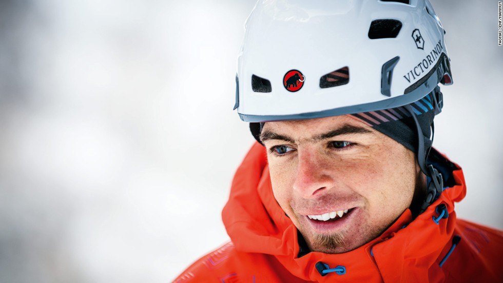 "Arnold (pictured) is one of the world's most accomplished climbers and holds the speed record for climbing the north face of the Eiger. The 29-year-old completed the climb, in the Swiss Bernese Alps, in a time of two hours 28 minutes in April 2011. Arnold counts Scotland among his favorite places to go climbing because it is so ""hard and dangerous."" The expedition to Norway was his first. ""It was a special trip, something really different. I was really impressed by the light,"" he said."