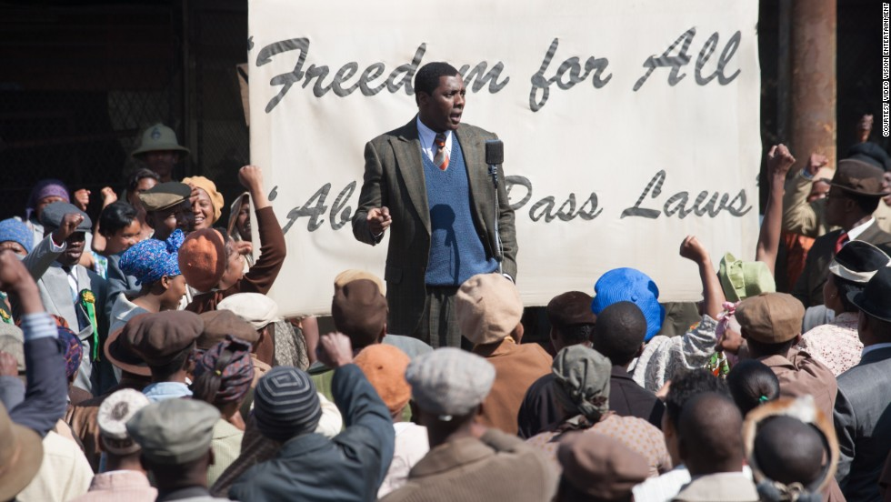 """Mandela: Long Walk to Freedom"" (2013), starring Idris Elba and Naomie Harris."