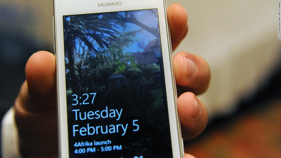 Huawei 4Afrika is a full functionality Windows phone 8 pre-loaded with applications designed for Africa. It's part of Microsoft's 4Afrika initiative, and is aimed at university students, developers and first-time smartphone users.