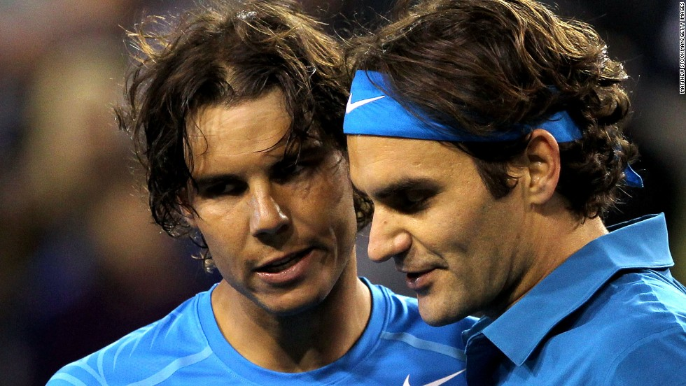 This week, and for the first time since 2003, Nadal and Federer are outside the top four in the rankings.