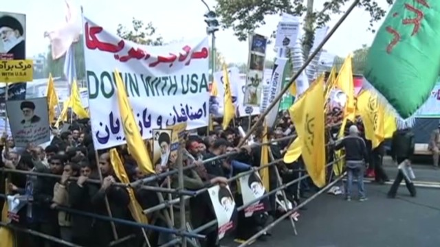 Iran marks embassy takeover anniversary