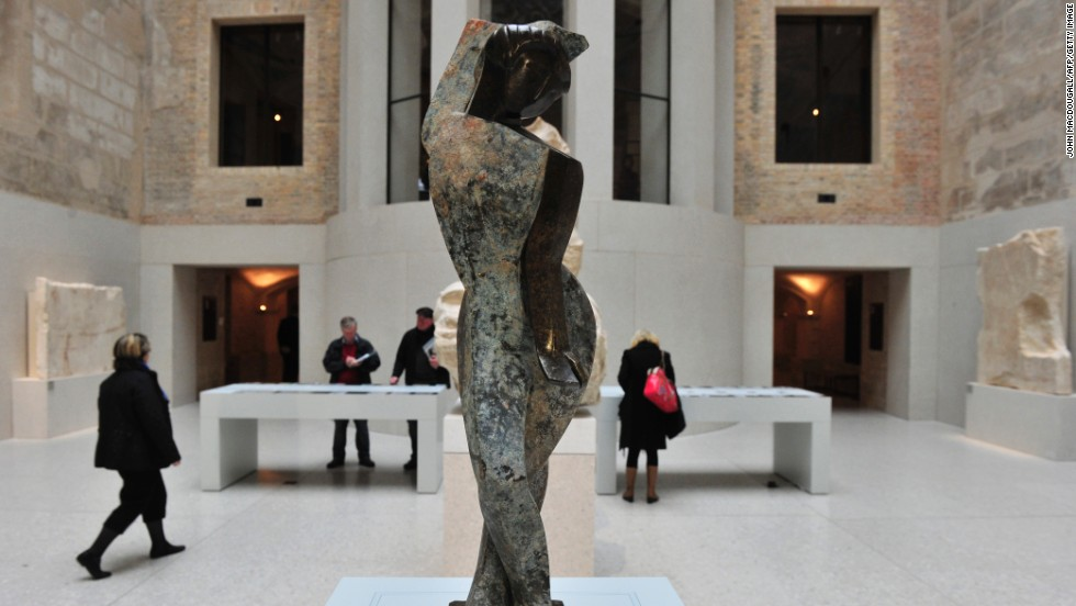 "German artist Marg Moll's sculpture ""Female Dancer"" was discovered during archaeological excavations near Berlin's town hall in 2010. At first believed to be ancient works, the sculptures were found to have toured Germany as part of the Nazi-sponsored 1937 exhibition of ""Degenerate Art."""